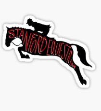 Stanford Equestrian Sticker