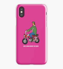 Jhon Lennon on Motorcycle  iPhone Case