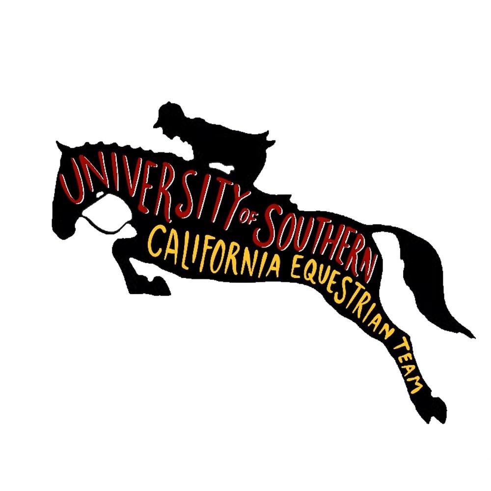 USC Equestrian Team by Nikki Falkenberg