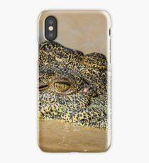 Saltwater Crocodile iPhone Case/Skin