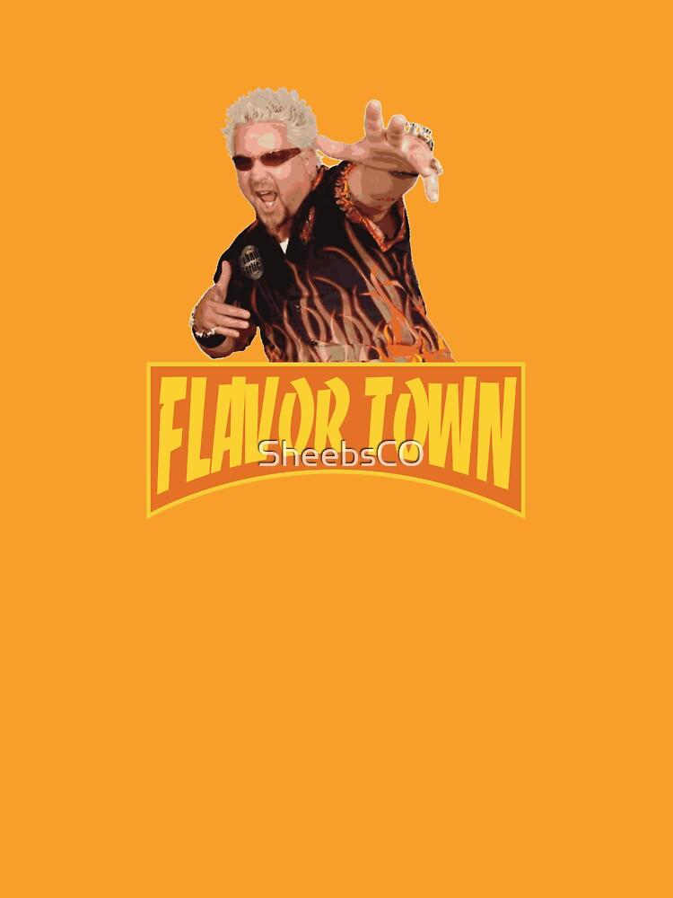 FLAVOR TOWN USA - GUY FlERl de SheebsCO