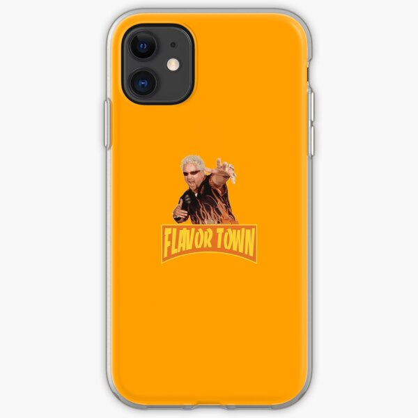 FLAVOR TOWN USA - GUY FlERl iPhone Soft Case
