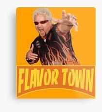 FLAVOR TOWN USA - GUY FlERl Metal Print