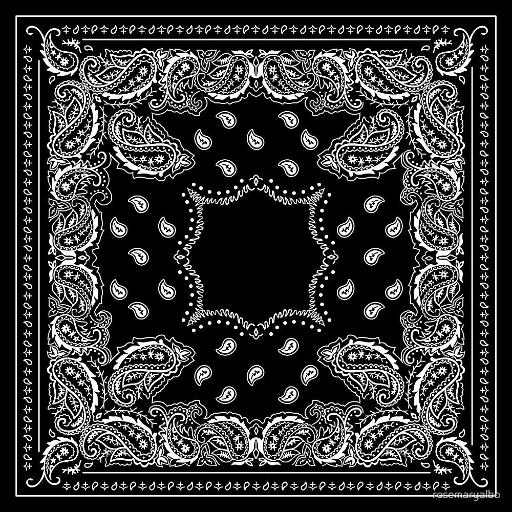 Black Bandana - 2  by rosemaryalbo