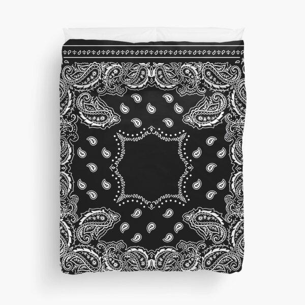 Black Bandana - 2  Duvet Cover