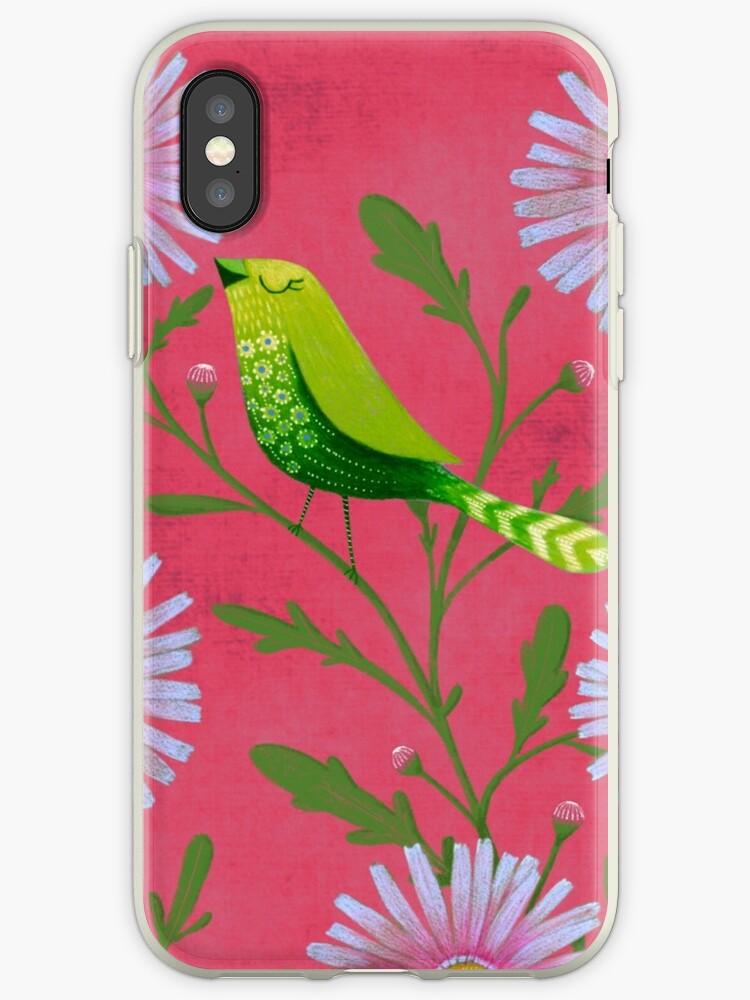 Summer green bird by Debi Hudson