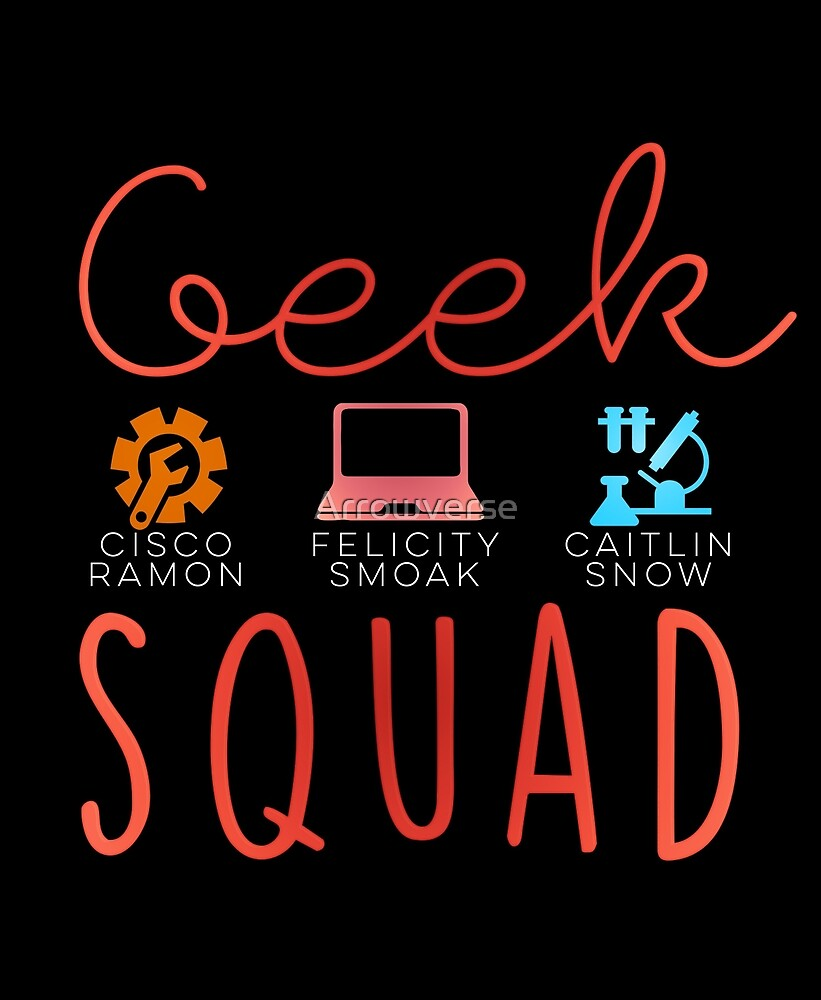 GEEK SQUAD PART 2 by Arrowverse