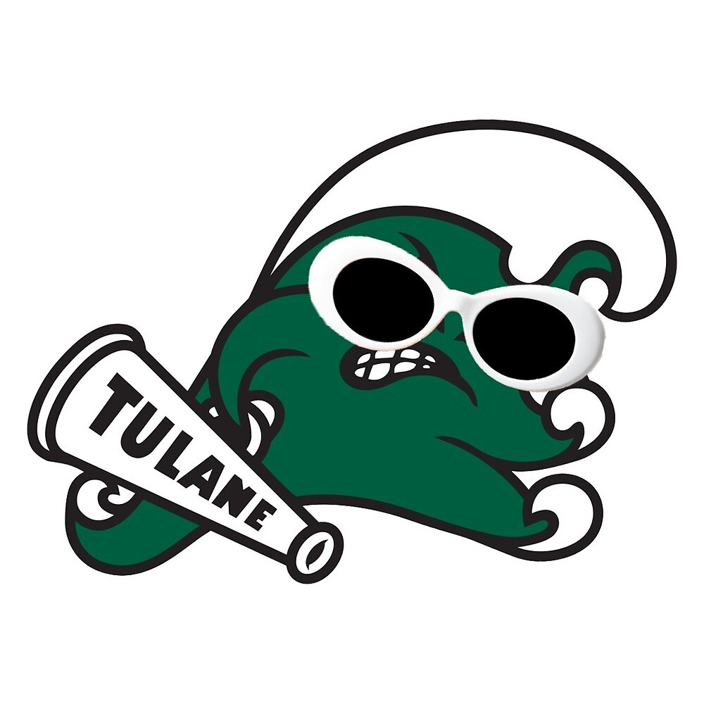 Tulane mascot with clout by hjg15