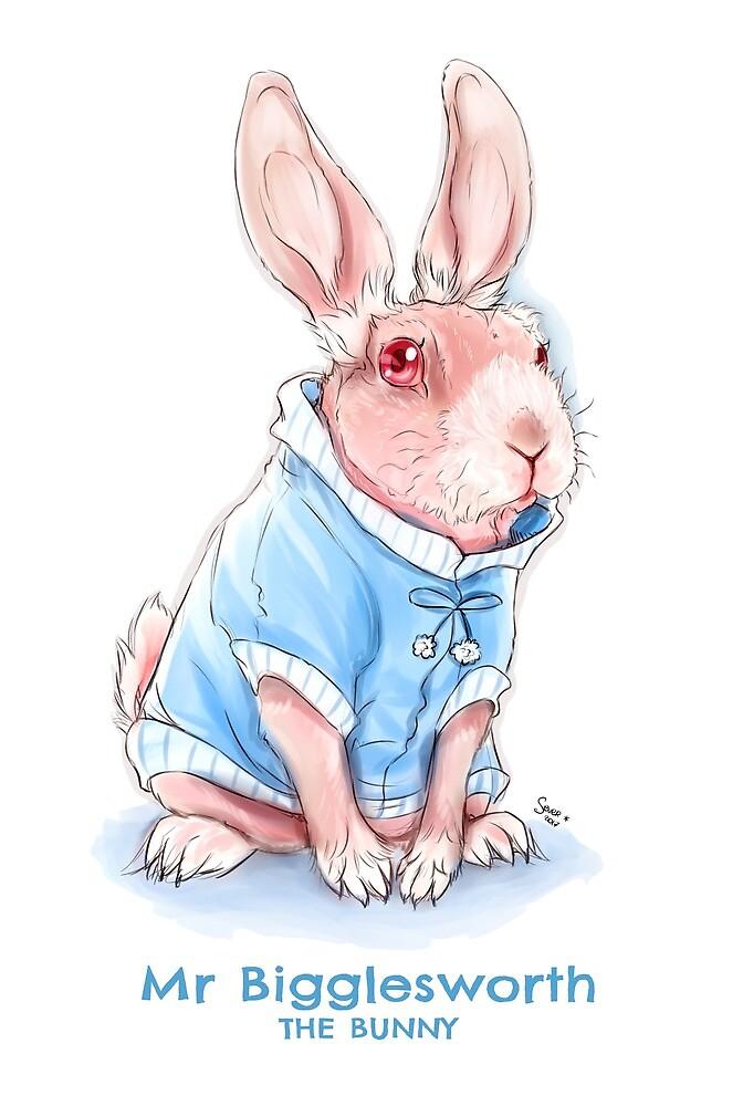 Mr Bigglesworth the bald rabbit - A social media sensation by mrbigglesworth