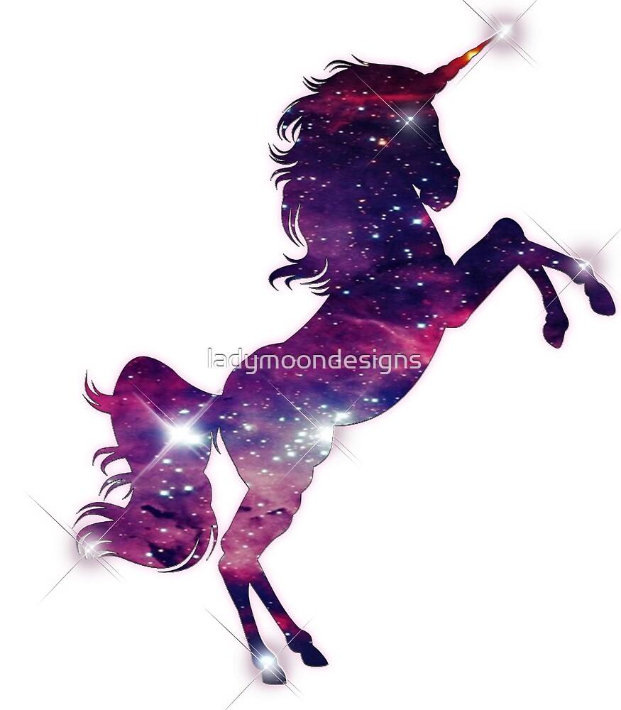 Galaxy Unicorn by ladymoondesigns