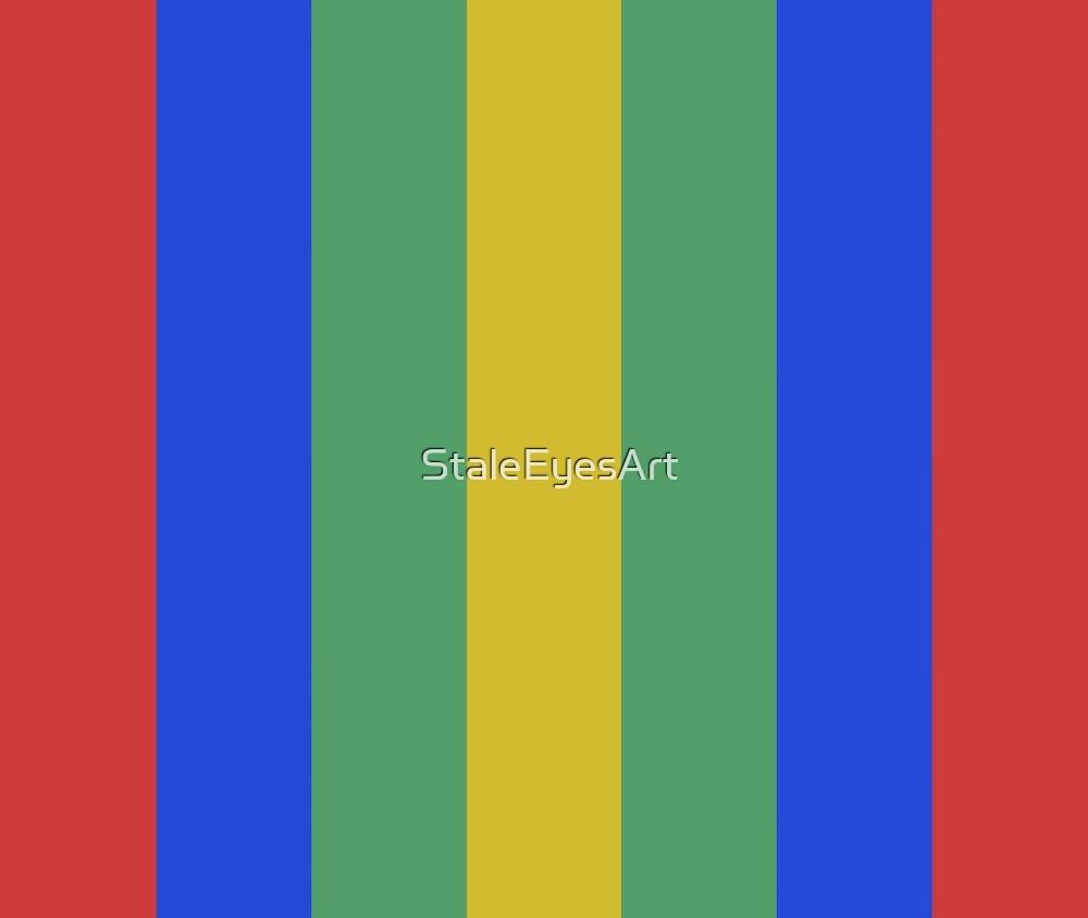 Bright Stripes by StaleEyesArt