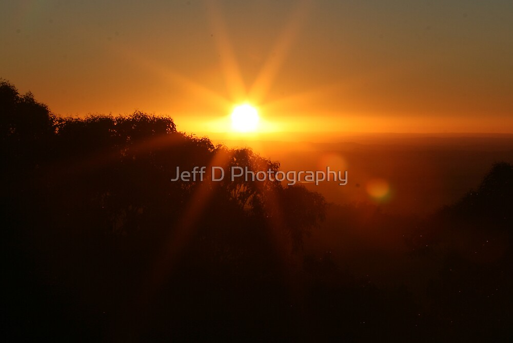 New Year Sunrise 1/1/2009 by Jeff D Photography