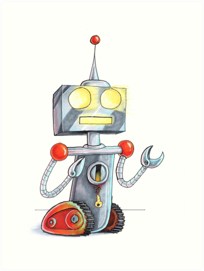 Robot by Andrew Janesko