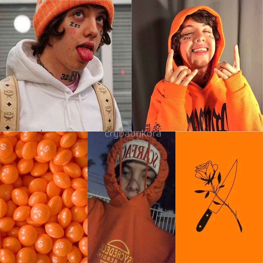 Lil Xan Collage by crybabykora