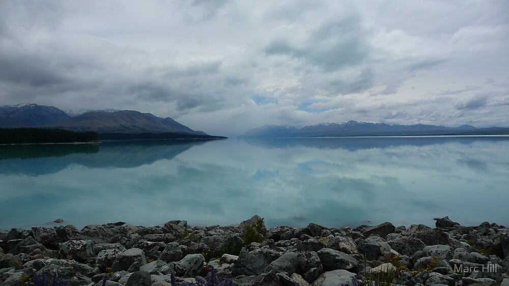 Lake Pukaki by Mark Hill