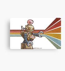 ROBOT ROBOT ROBOT Canvas Print