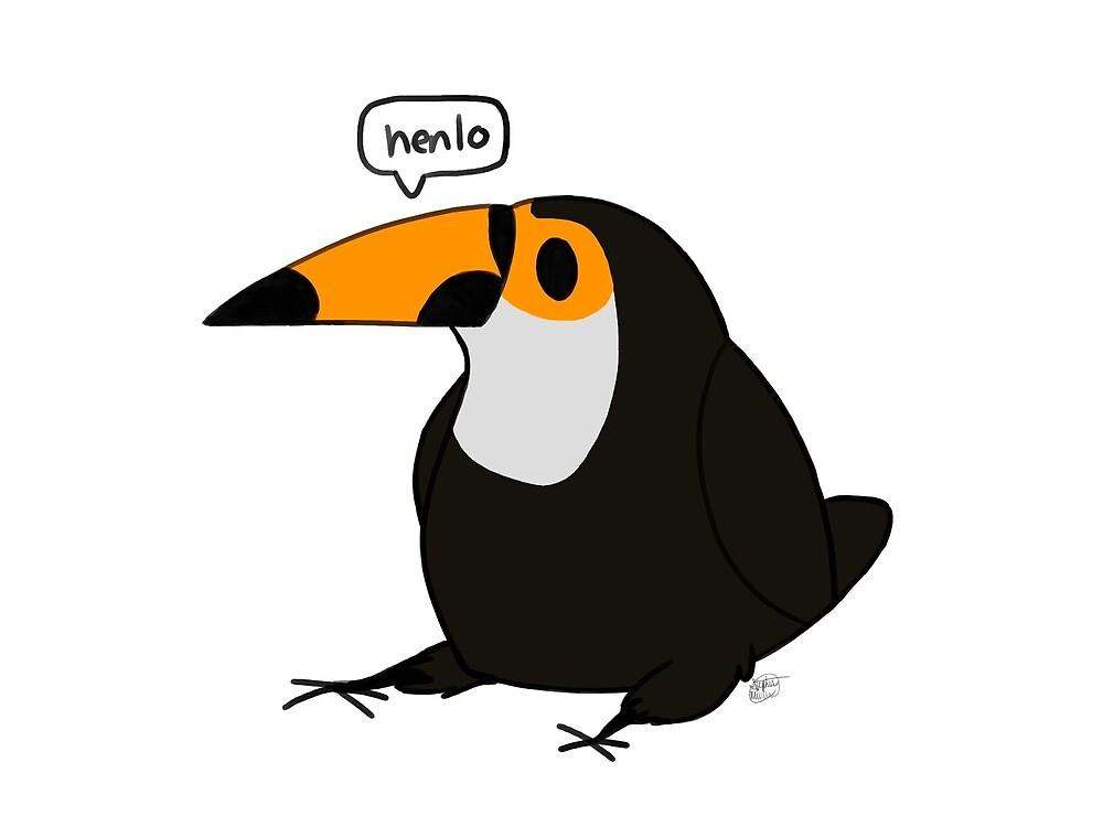 Toucan Says Hello! by HenloKiwi