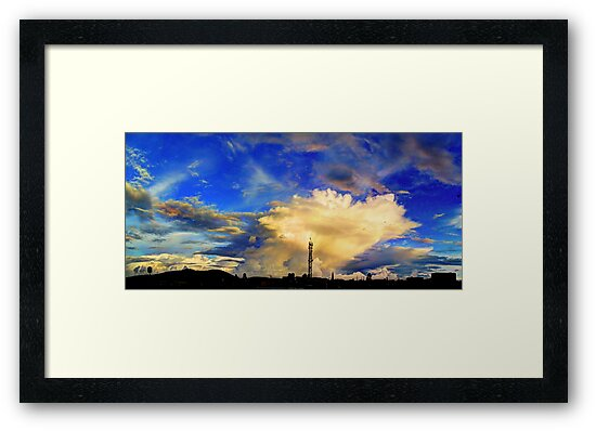 ©HCS  Mystic Sky Cumulus Incus by OmarHernandez