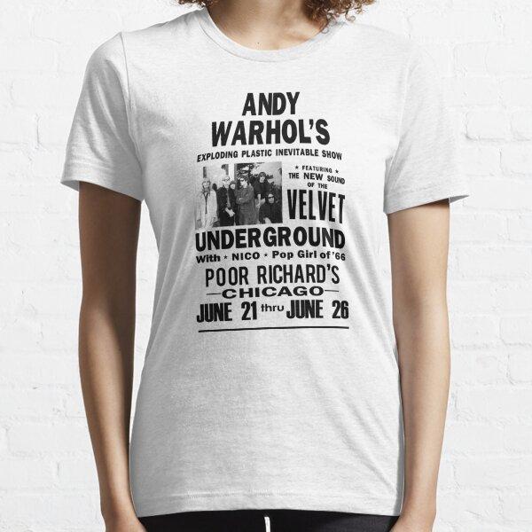 Velvet Underground d'Andy Warhol T-shirt essentiel