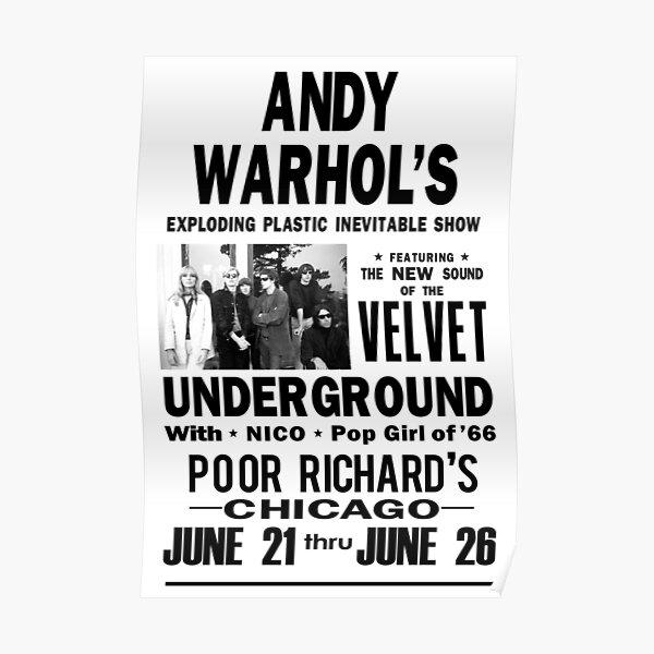Andy Warhol's Velvet Underground Poster