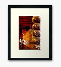 Reclining Budda at Wat Pho Framed Print