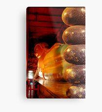 Reclining Budda at Wat Pho Metal Print