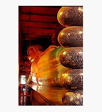 Reclining Budda at Wat Pho Photographic Print
