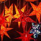 Hanging stars by Nancy Huenergardt