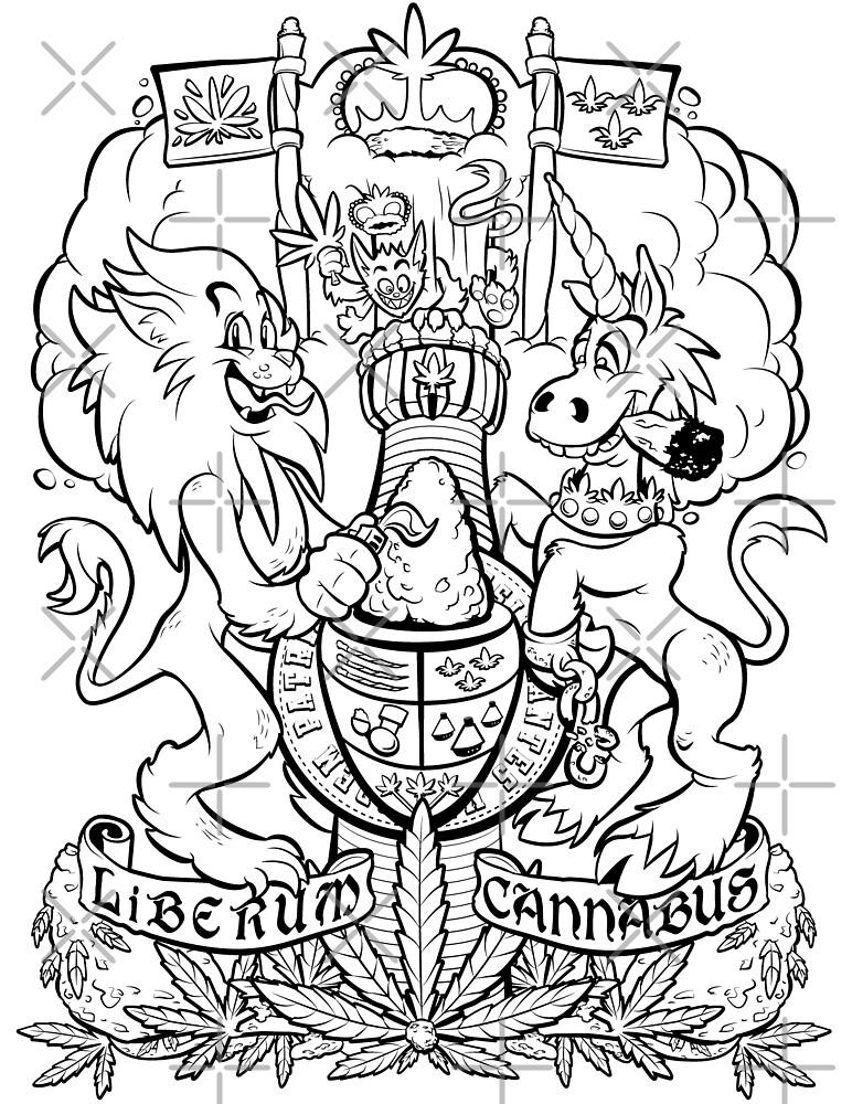 Cannabian Shield by Gary Wintle