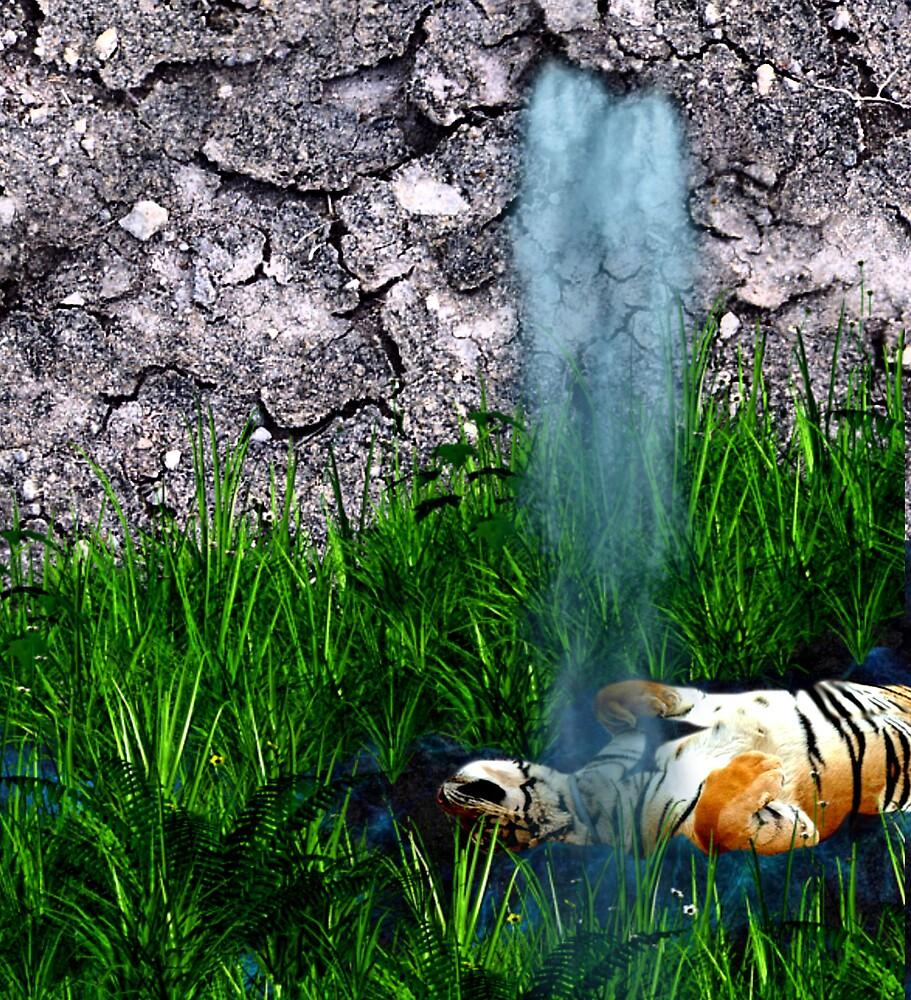 Tiger bath by CheyenneLeslie Hurst