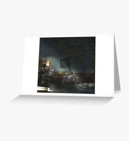 Room 205 Greeting Card