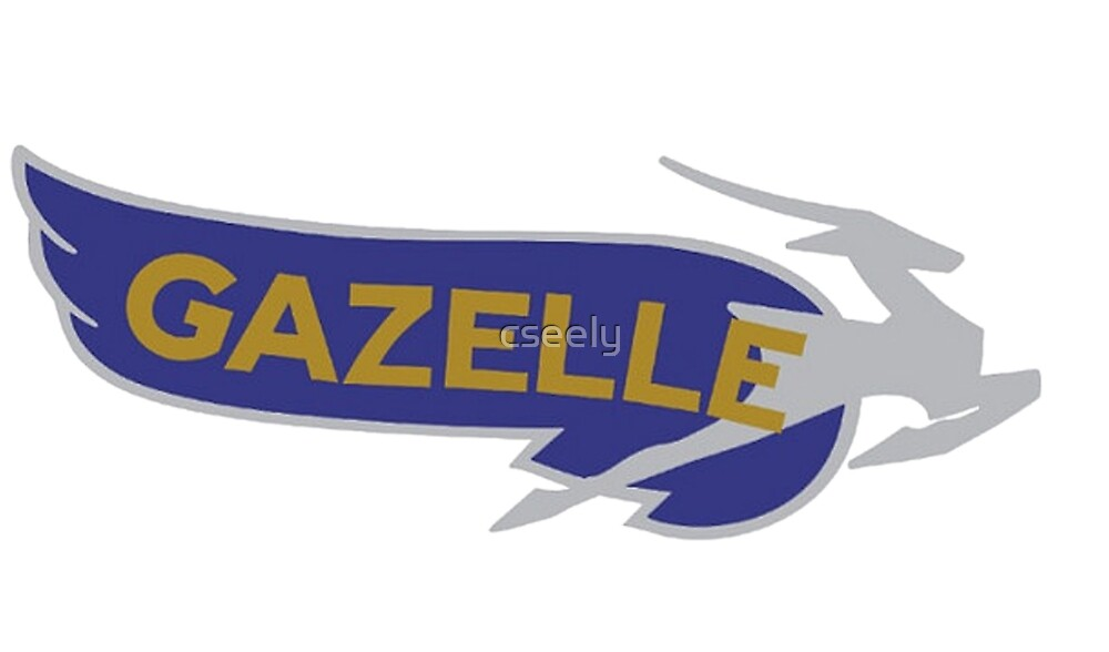 GAZELLE VINTAGE MOTORCYCLE SHIRT by cseely
