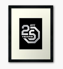 25 Years of UFC Framed Print