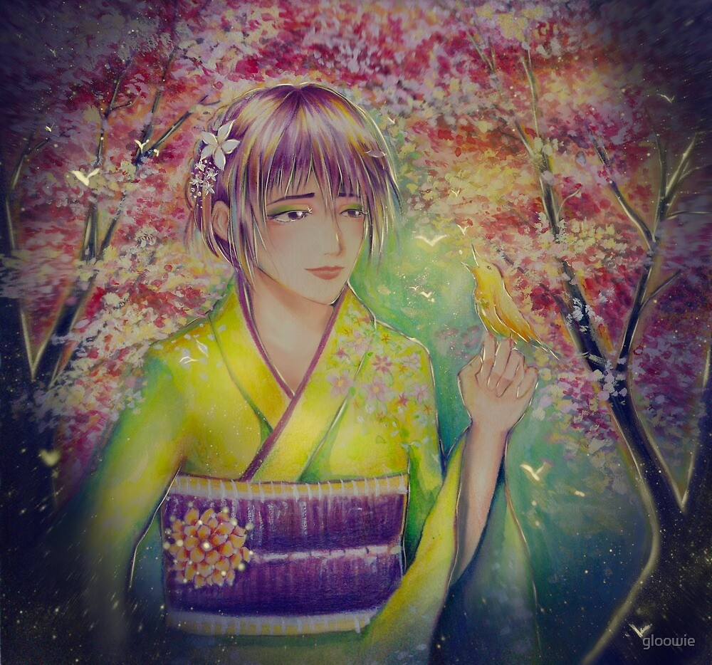 Original Artwork - Spring Spirit by gloowie