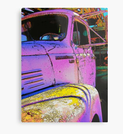 The New Power Color For Spring Metal Print