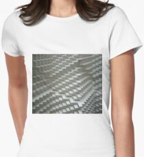 3D Surface Women's Fitted T-Shirt