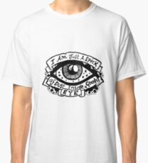 I Am Just a Speck of Dust Inside a Giants Eye - Illustrated Lyrics Classic T-Shirt