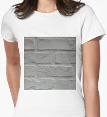 Anitque, White Women's Fitted T-Shirt