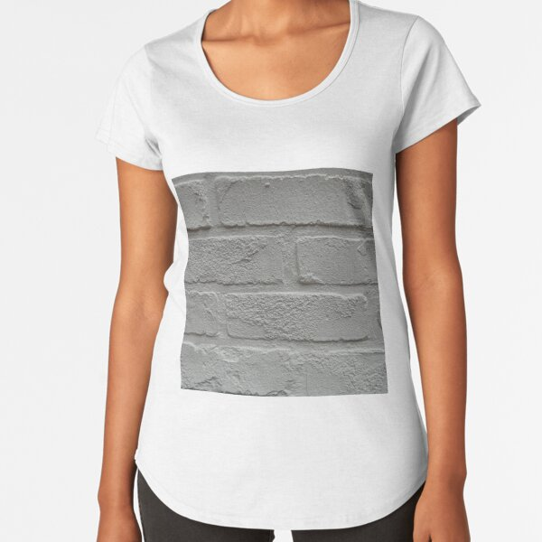 Anitque, White Premium Scoop T-Shirt