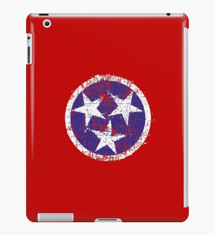 Grunge State Flag Of Tennessee iPad Case/Skin