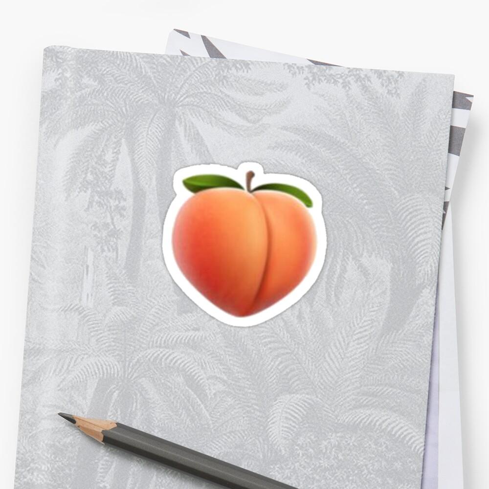 Peach Emoji by adigiuseppe