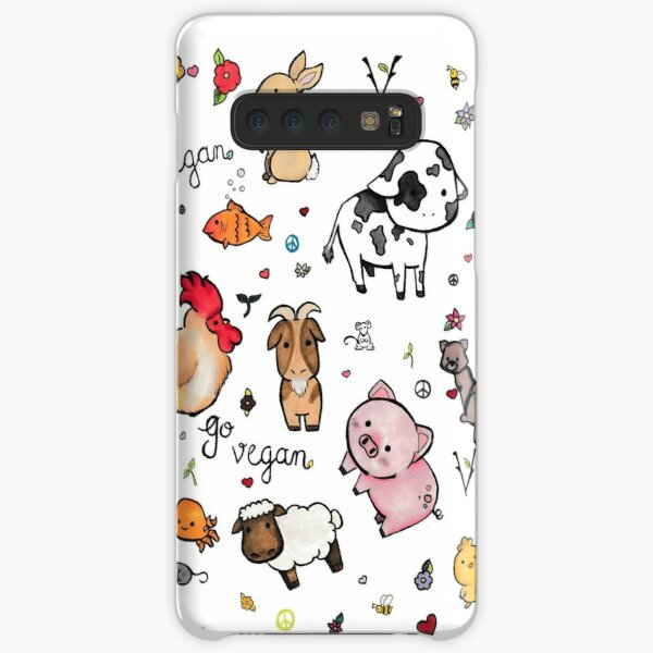 Vegan pattern  Samsung Galaxy Snap Case