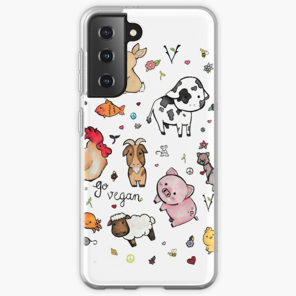 Vegan pattern  Samsung Galaxy Soft Case
