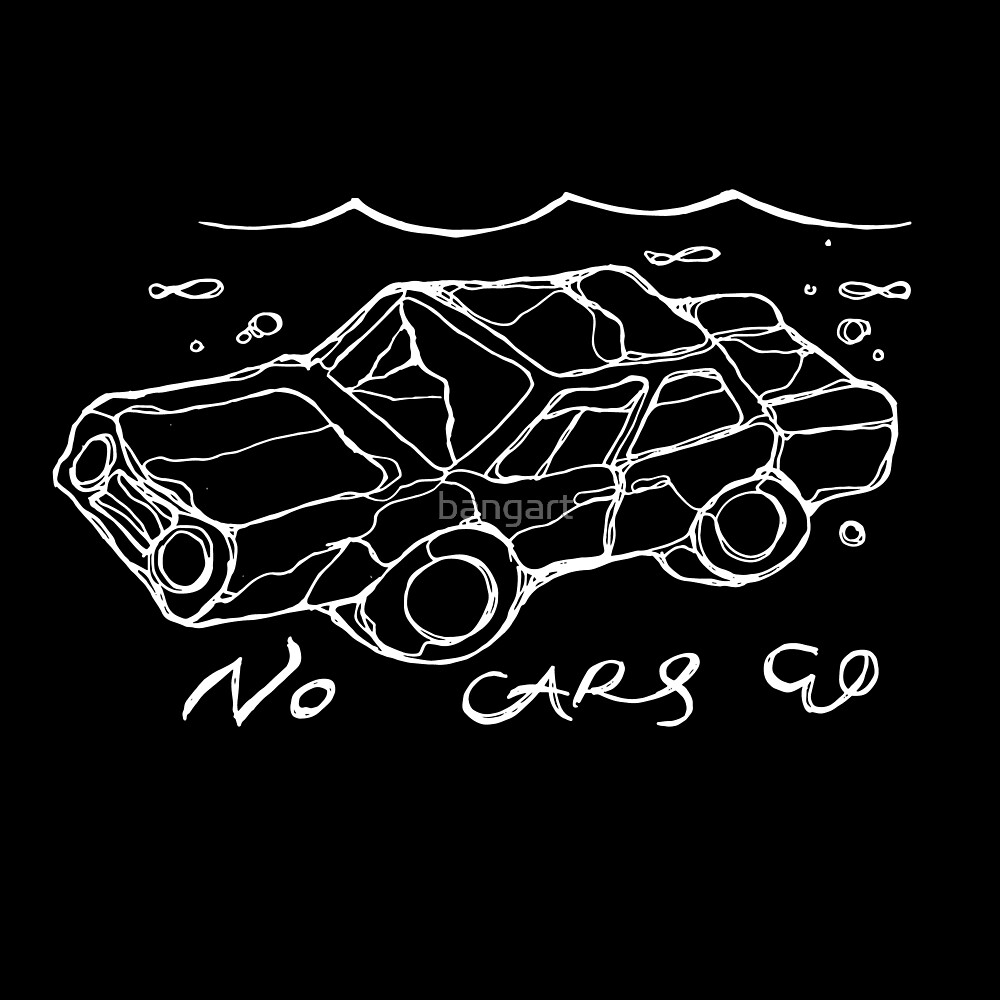 No Cars Go by the band Arcade Fire - Illustrated Lyrics  by bangart