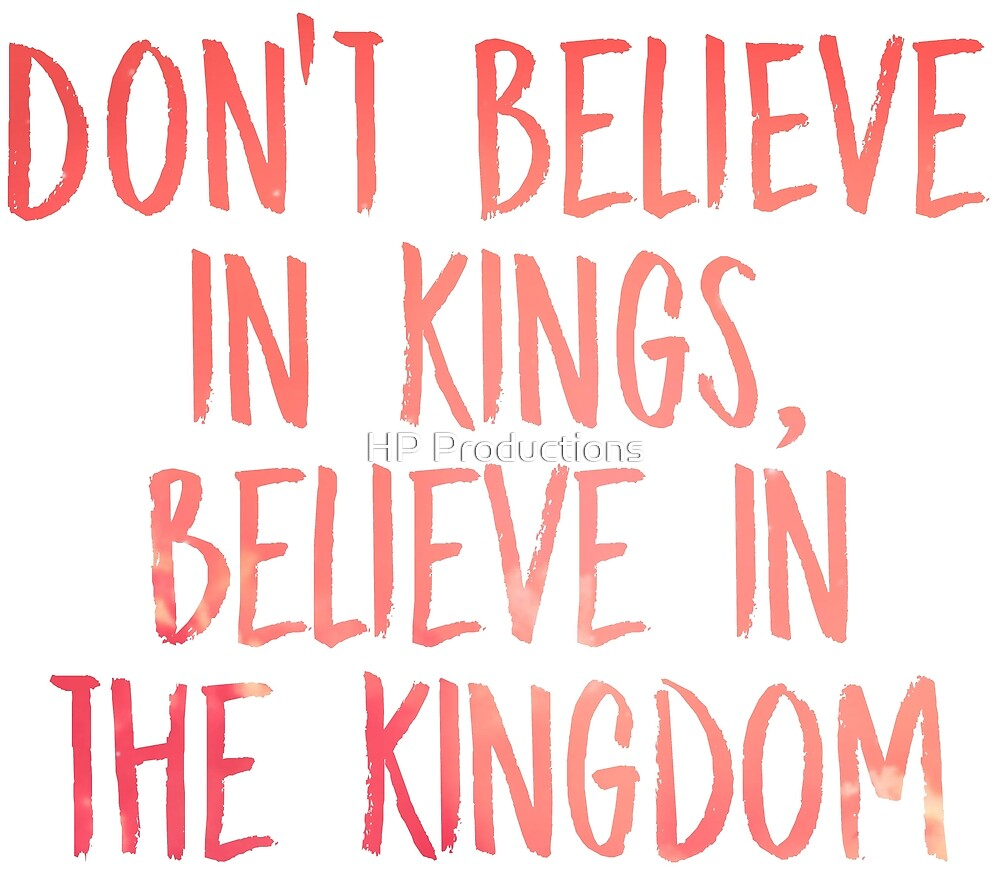 Dont Believe in Kings, Believe in the Kingdom - Chance the Rapper by HP Productions