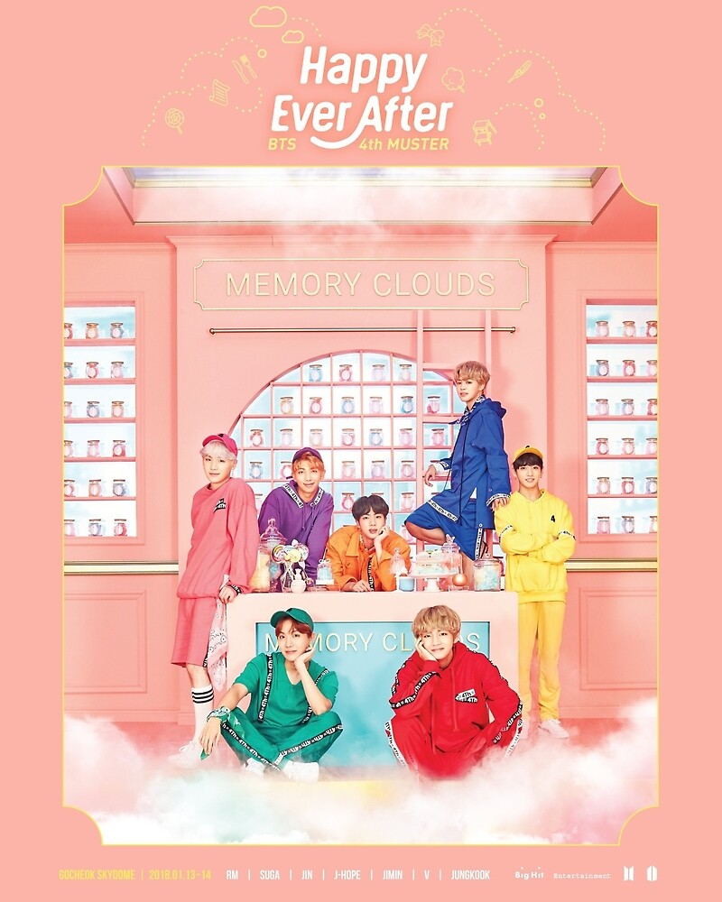 BTS Happily Ever After Poster by halfterlife