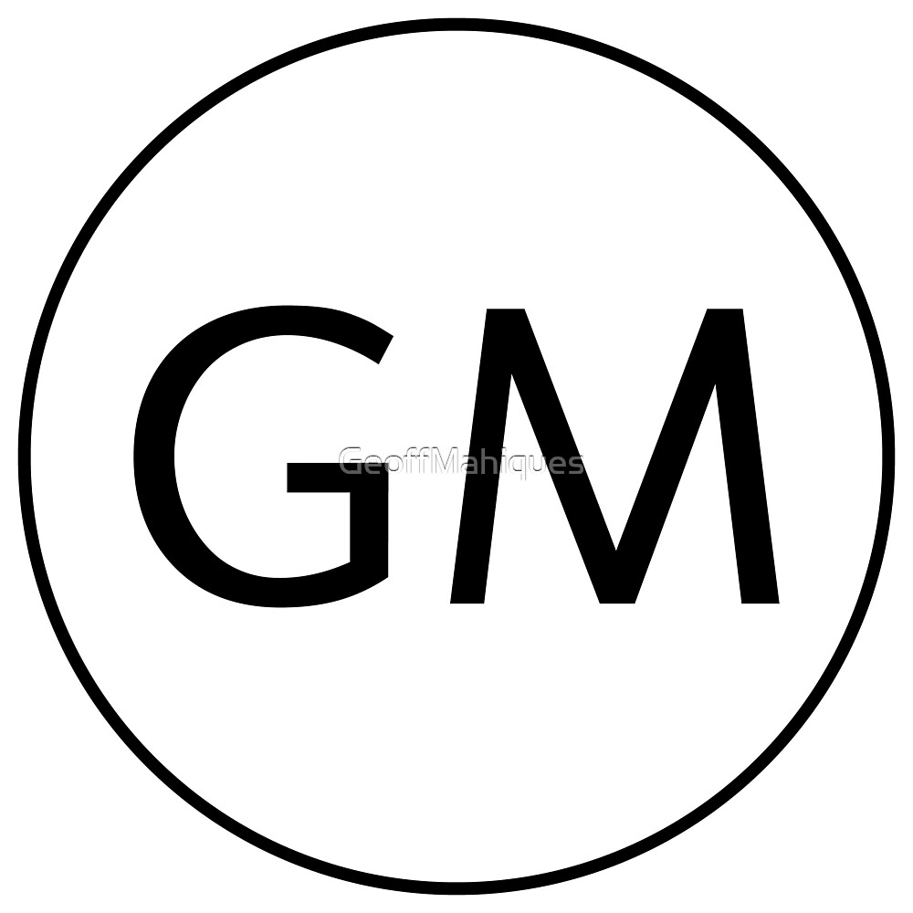 GM Logo by GeoffMahiques