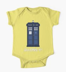 Doctor Who Police Call Box One Piece - Short Sleeve