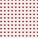 Geometrische Herzen von retr0babe