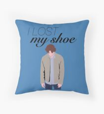 I Lost My Shoe  Throw Pillow